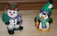 Snowman and Penguin
